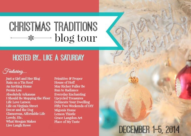 Christmas Traditions Blog Tour 1