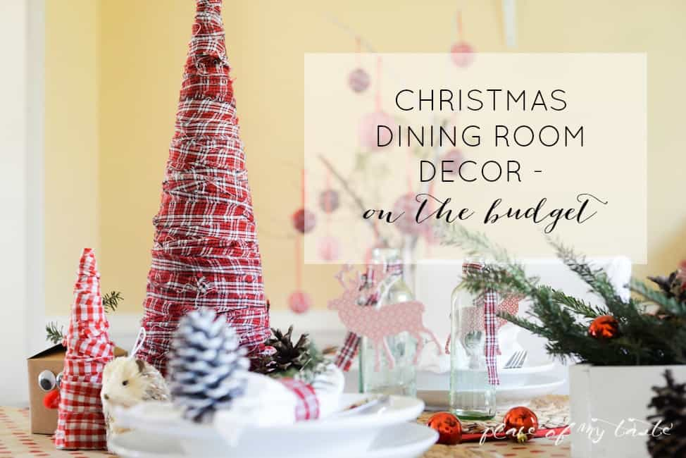Christmas home tour,front porch and dining room-