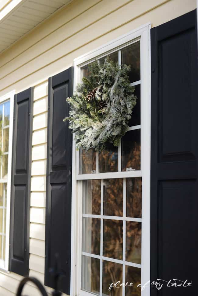 Christmas home tour,front porch and  dining room-12