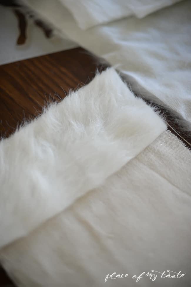 DIY NO SEW stenciled stockings -Placeofmytaste.com-1-3
