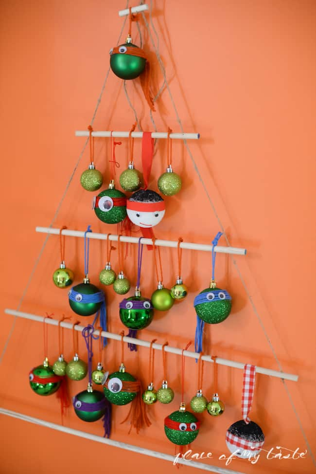 ninja turtles christmas tree