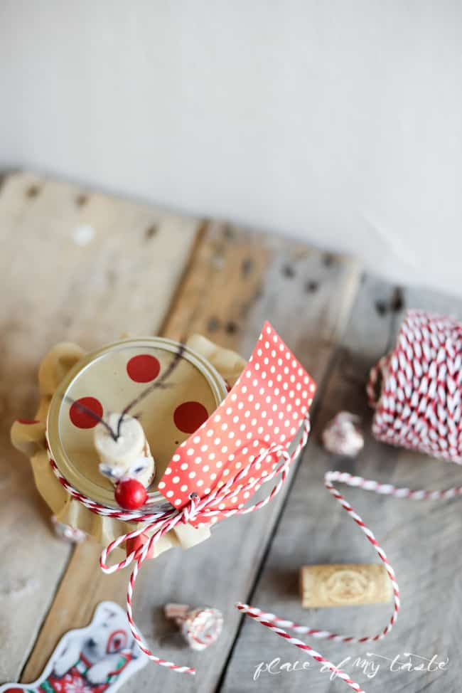 Reindeer mason jar gift card holder- Placeofmytaste.com-7