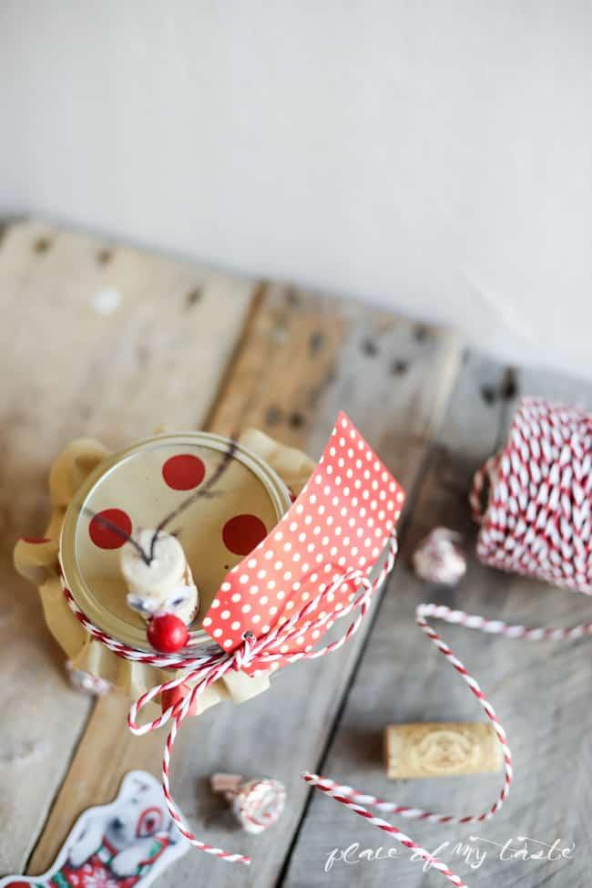 Reindeer mason jar gift card holder- Placeofmytaste.com-7