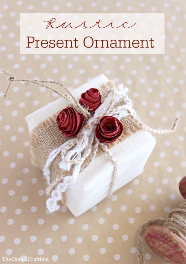 Rustic-Present-Ornament-
