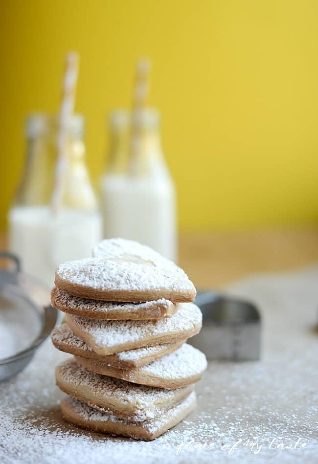 3 ingredients shortbread cookies-7