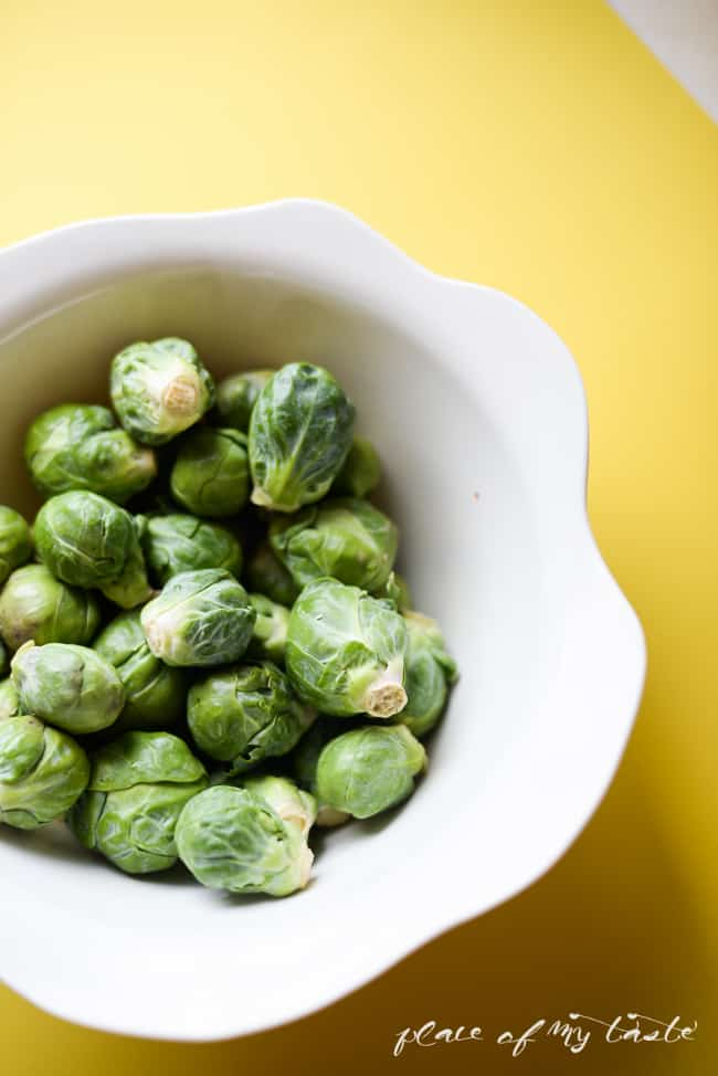 Brussels Sprouts with Italian Sausage- Placeofmytaste.com-1