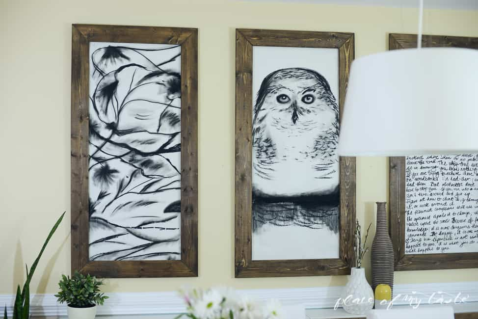 Diy Wall Art Big : Art the thing that makes our livesand homes beautiful