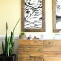 DIY RECLAIMED WOOD BUFFET – IKEA HACKS