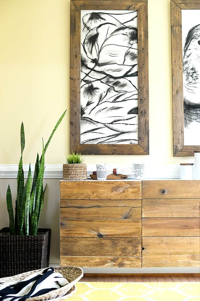Reclaimed wood buffet- Placeofmytaste.com-19