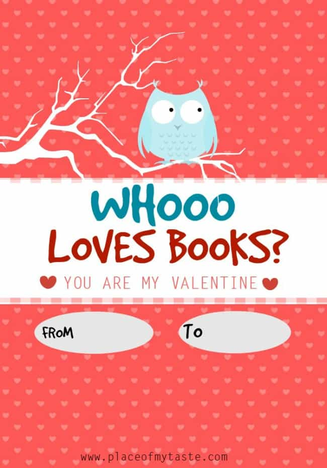 WHOO LOVES BOOKS-printable