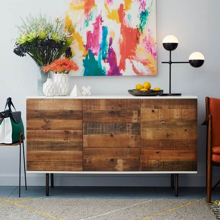 Ikea hacks diy reclaimed wood buffet - Ikea buffet stockholm ...