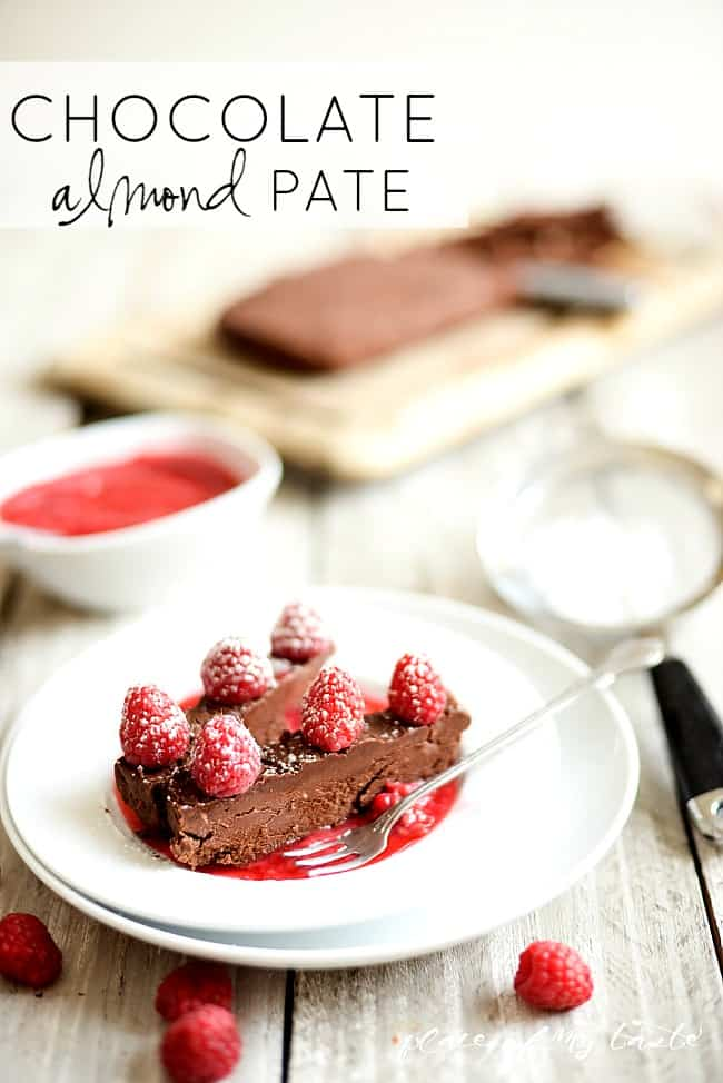 Chocolate Almond Pate by placeofmytaste.com