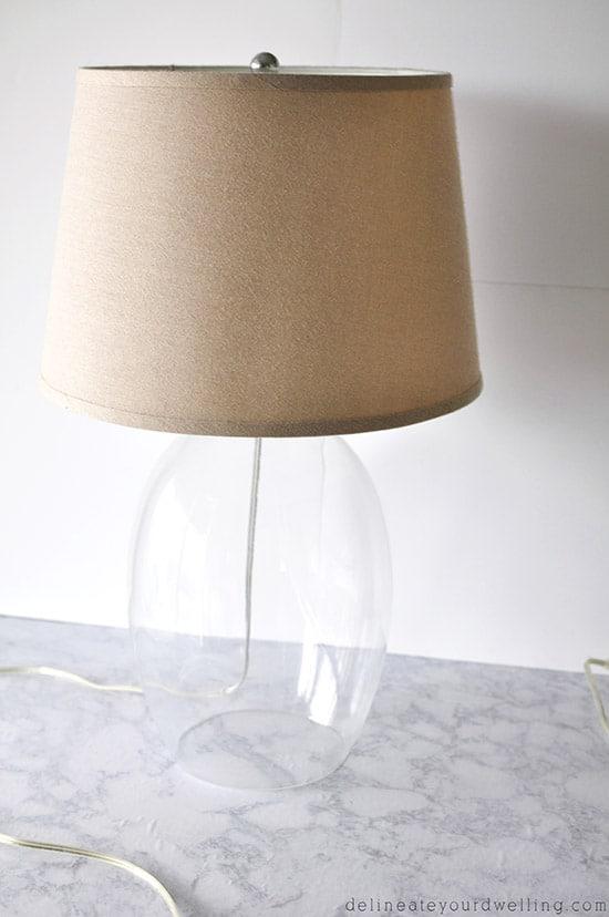 Original Glass Lamp