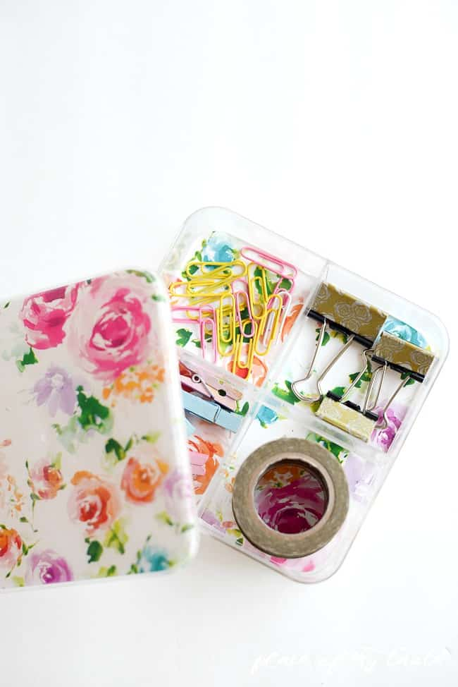 Pretty DIY Desk Organizer-8