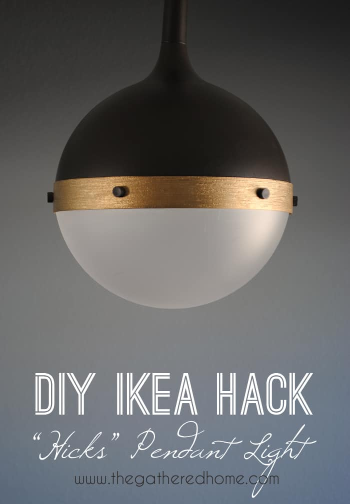 diy ikea hack hicks pendant light2