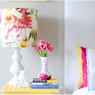 DIY LAMP SHADE- I LIKE THAT LAMP!
