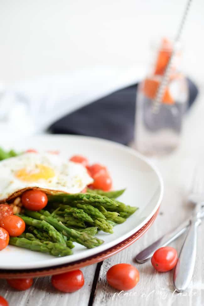 Asparagus salad -5