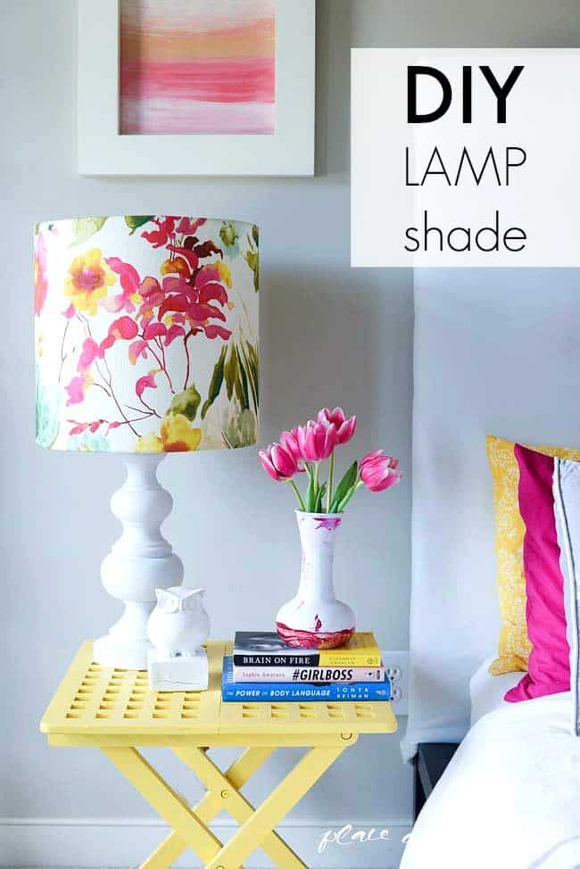 DIY lampshade with I LIKE THAT LAMP KIT-