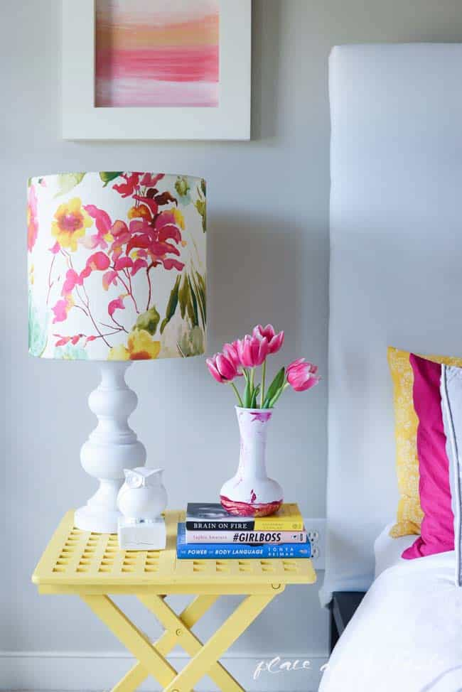 DIY lampshade with I LIKE THAT LAMP KIT-5