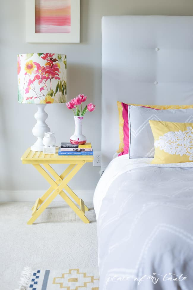 DIY lampshade with I LIKE THAT LAMP KIT-6