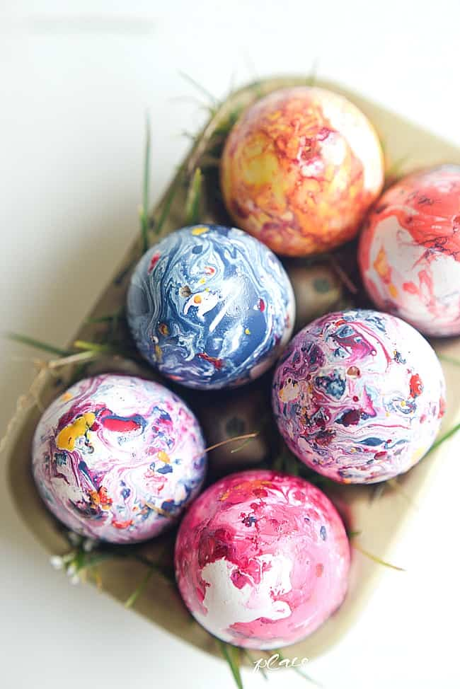 Marbled easter eggs-11