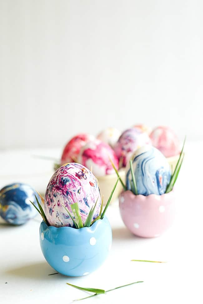 Marbled easter eggs-16