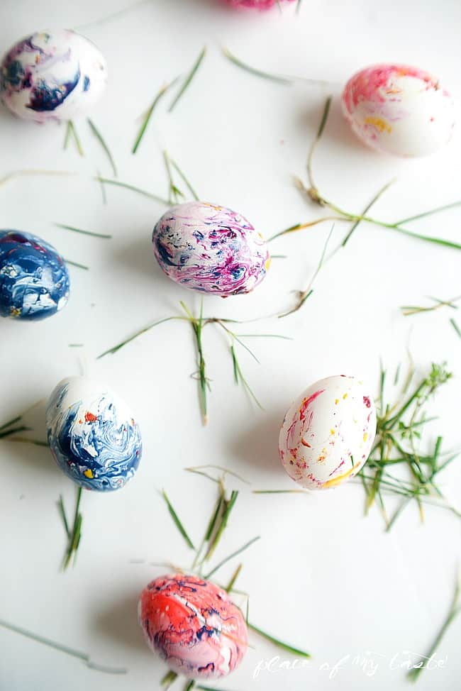 Marbled easter eggs-17