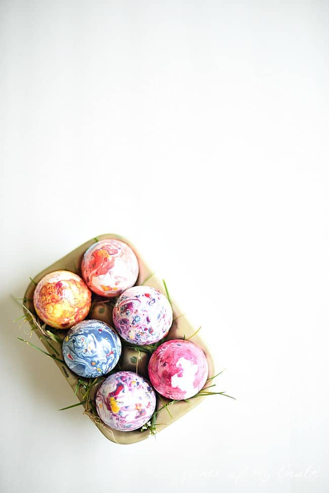 Marbled easter eggs-8