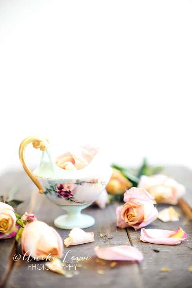 Pretty Dried roses 3