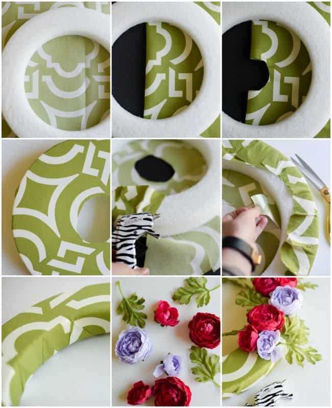 Spring DIY Wreath..