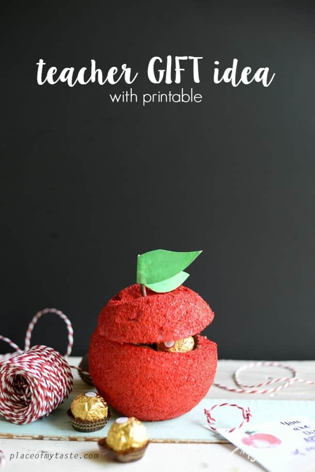Teacher Gift idea with printable