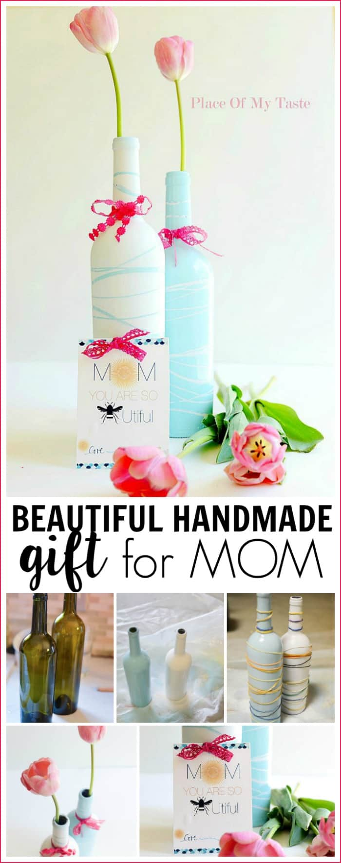 BEAUTIFUL HANDMADE GIFT FOR MOM