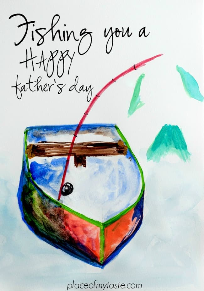 Fishing you a Happy Father's day--)-..