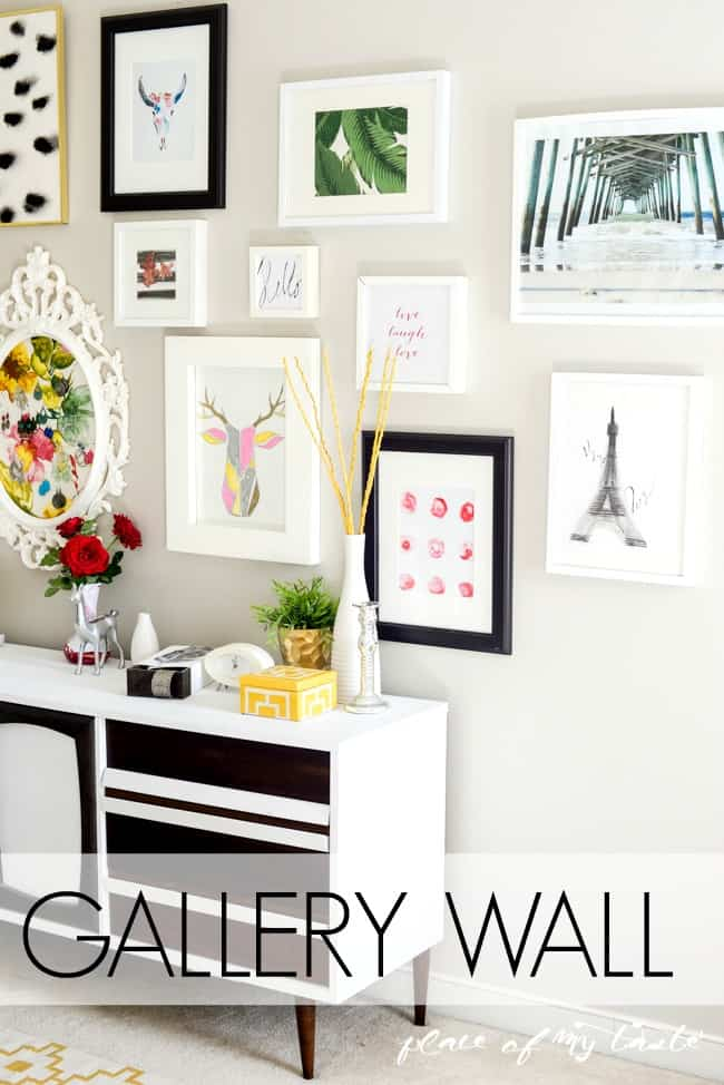 How to create an easy gallery wall-1-2