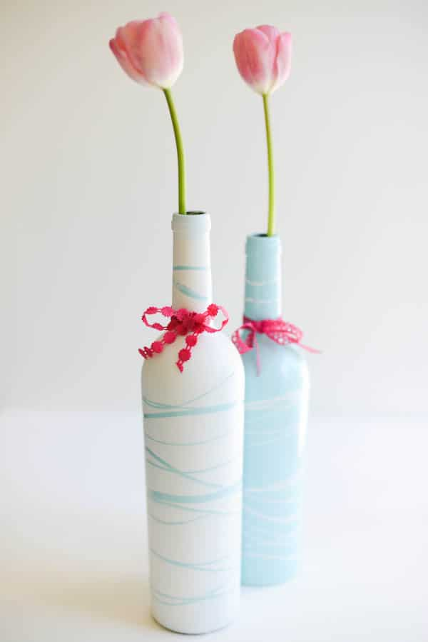 Painted Wine Bottles and mother's day printable  by Place Of My Taste (2 of 9)