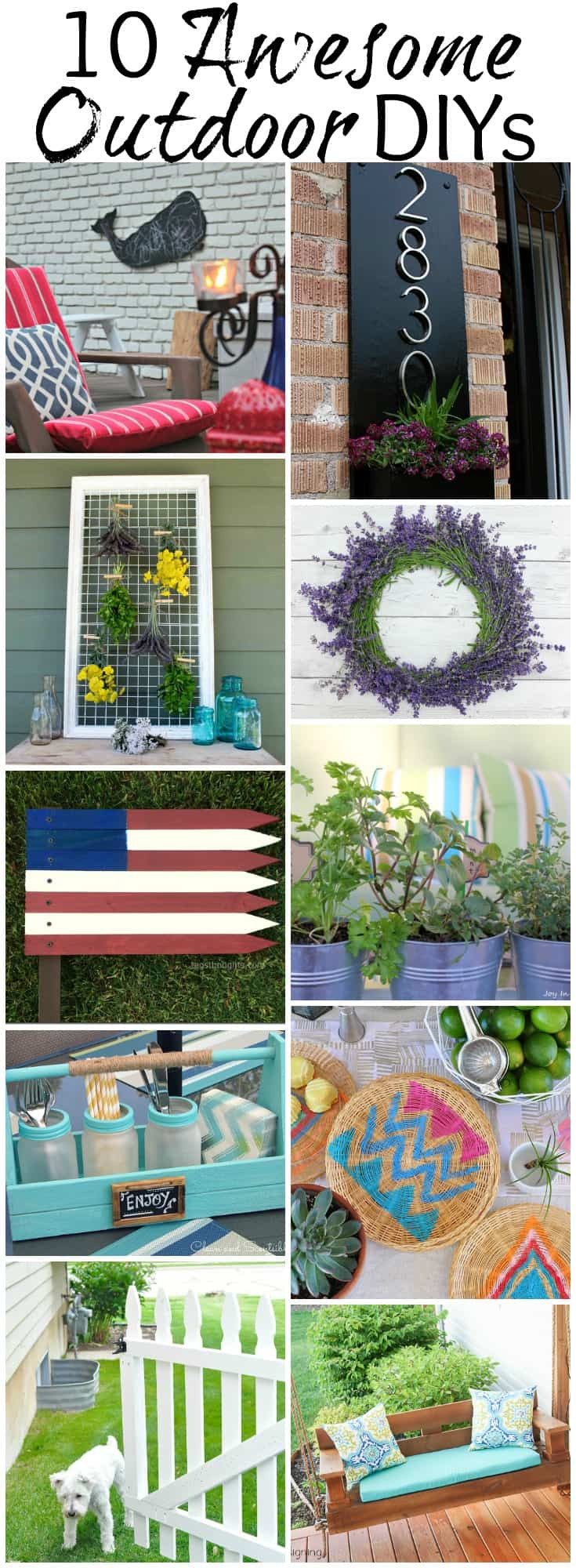 10 Awesome Outdoor DIYs