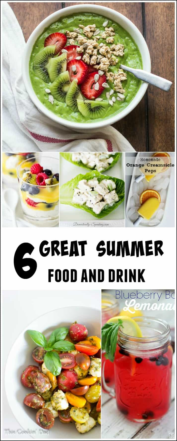 6 great summer food and drink