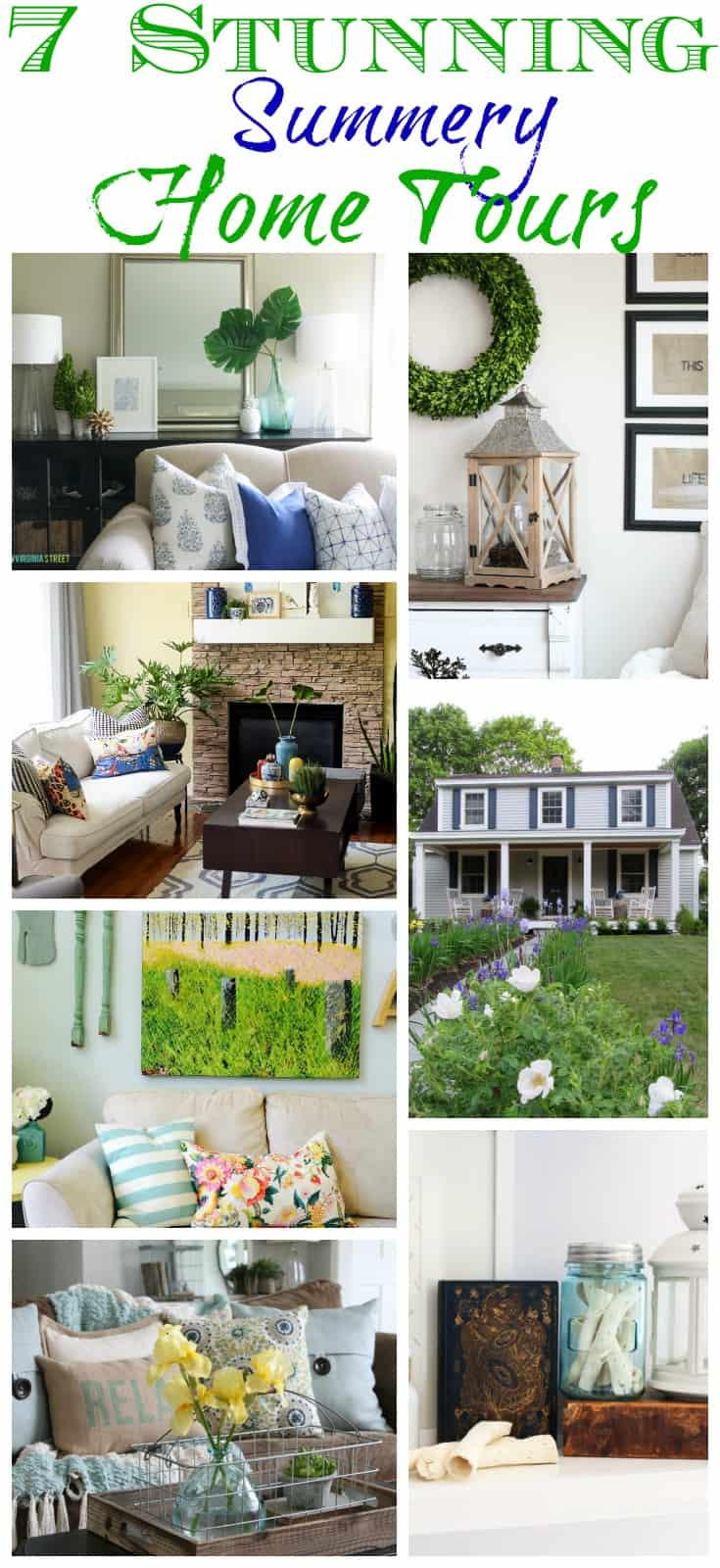 7 Stunning Summery Home Tours (1)