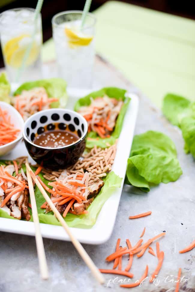 Asian Chicken wrap-4