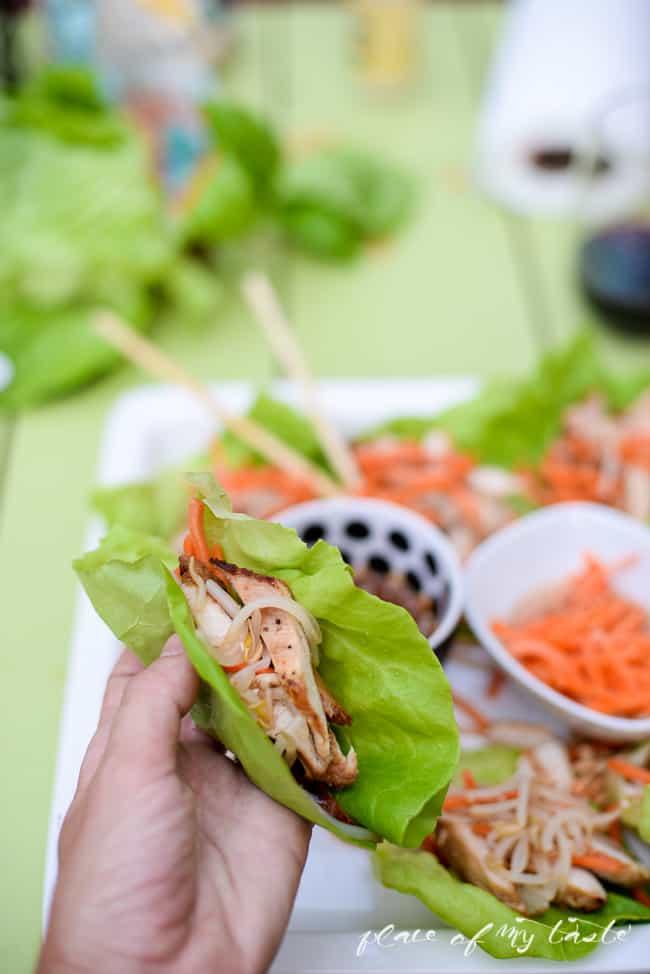 Asian Chicken wrap-6