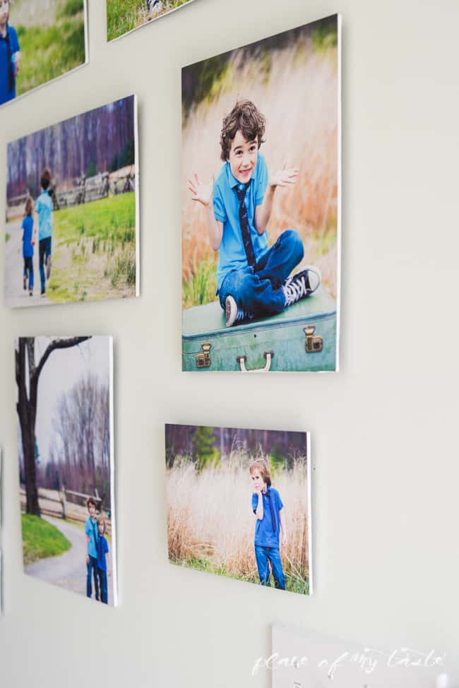 MODERN PHOTO WALL – HOW TO MOUNT PHOTOS ON FOAM BOARD