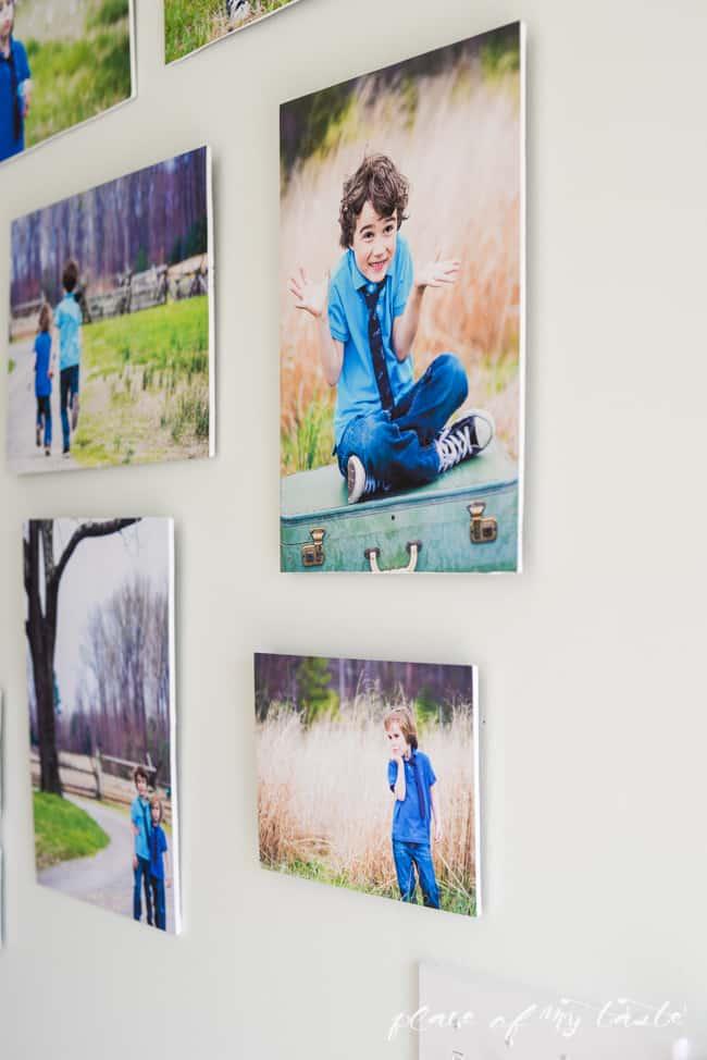 Modern photo wall-1-2