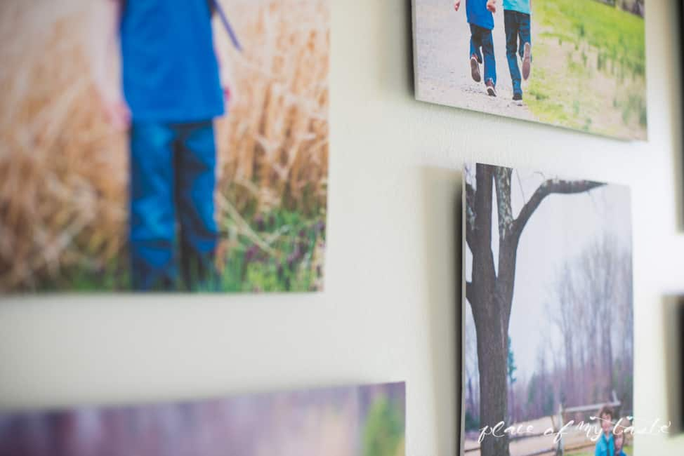 Modern photo wall-17