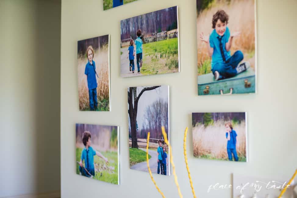Modern photo wall-18