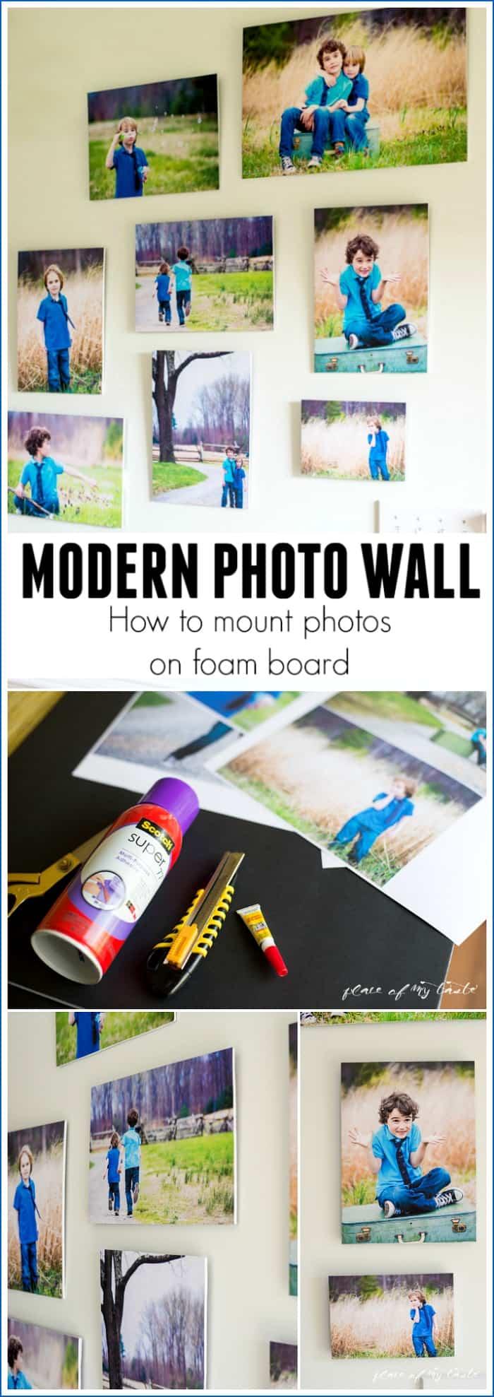 Modern-photo-wall