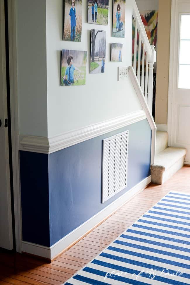 Pop of color in the hallway-7