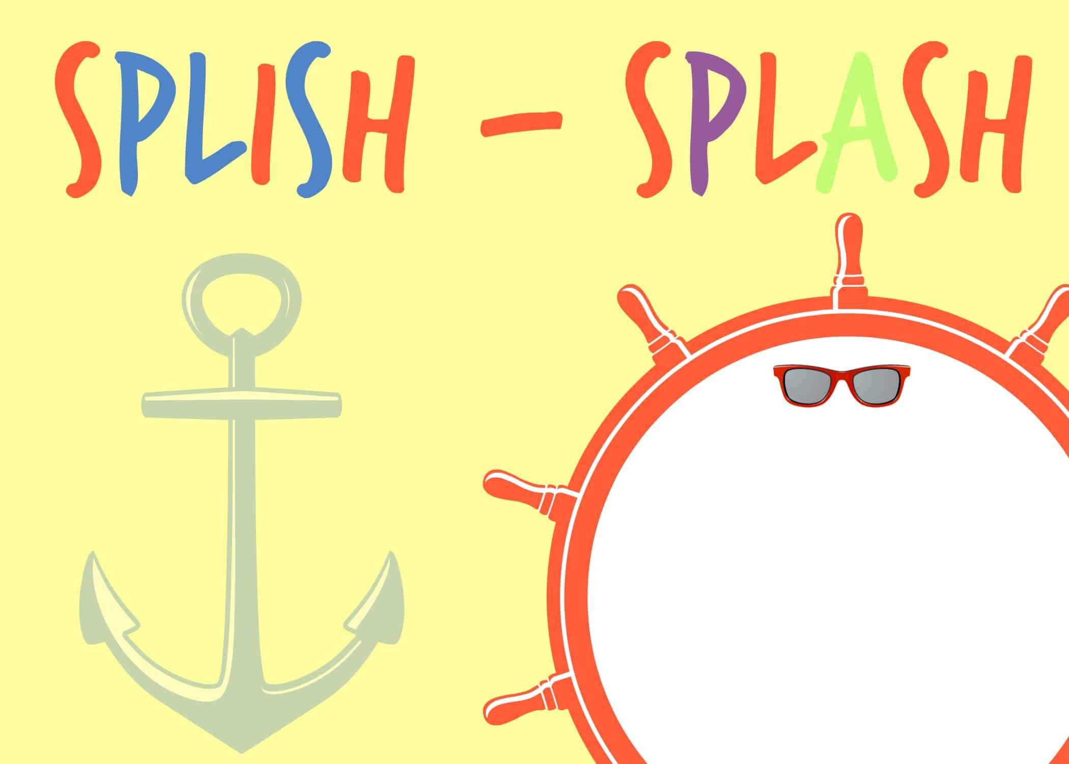 Splish splash party and free printables place of my taste splish splash invitation stopboris