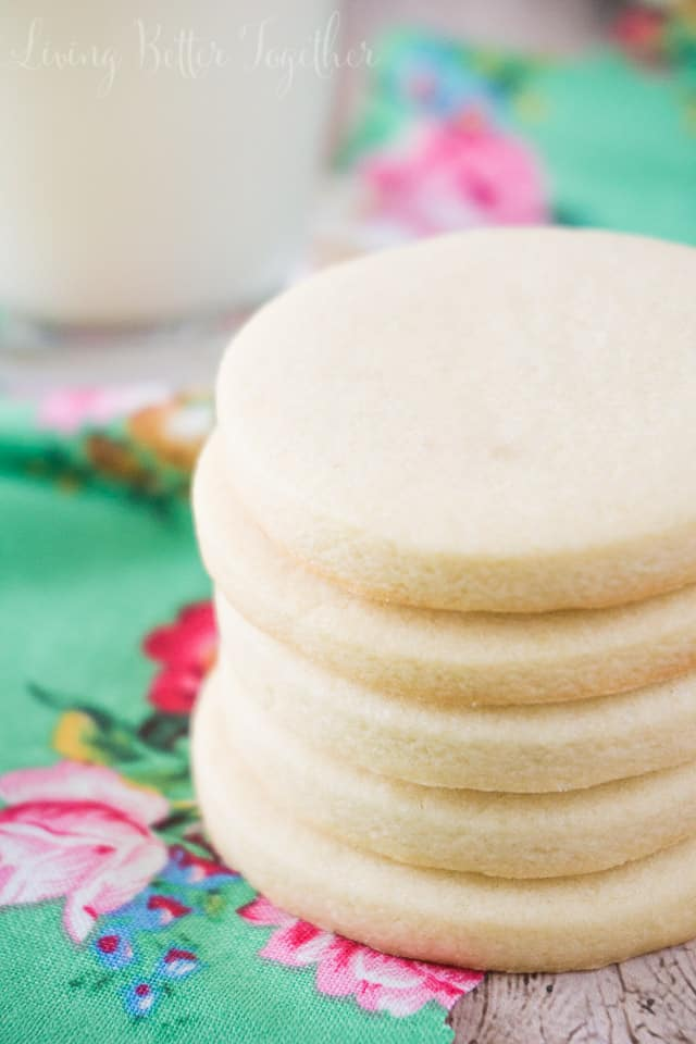 These Classic Sugar Cookies are perfect for decorating for the holidays or eating plain!