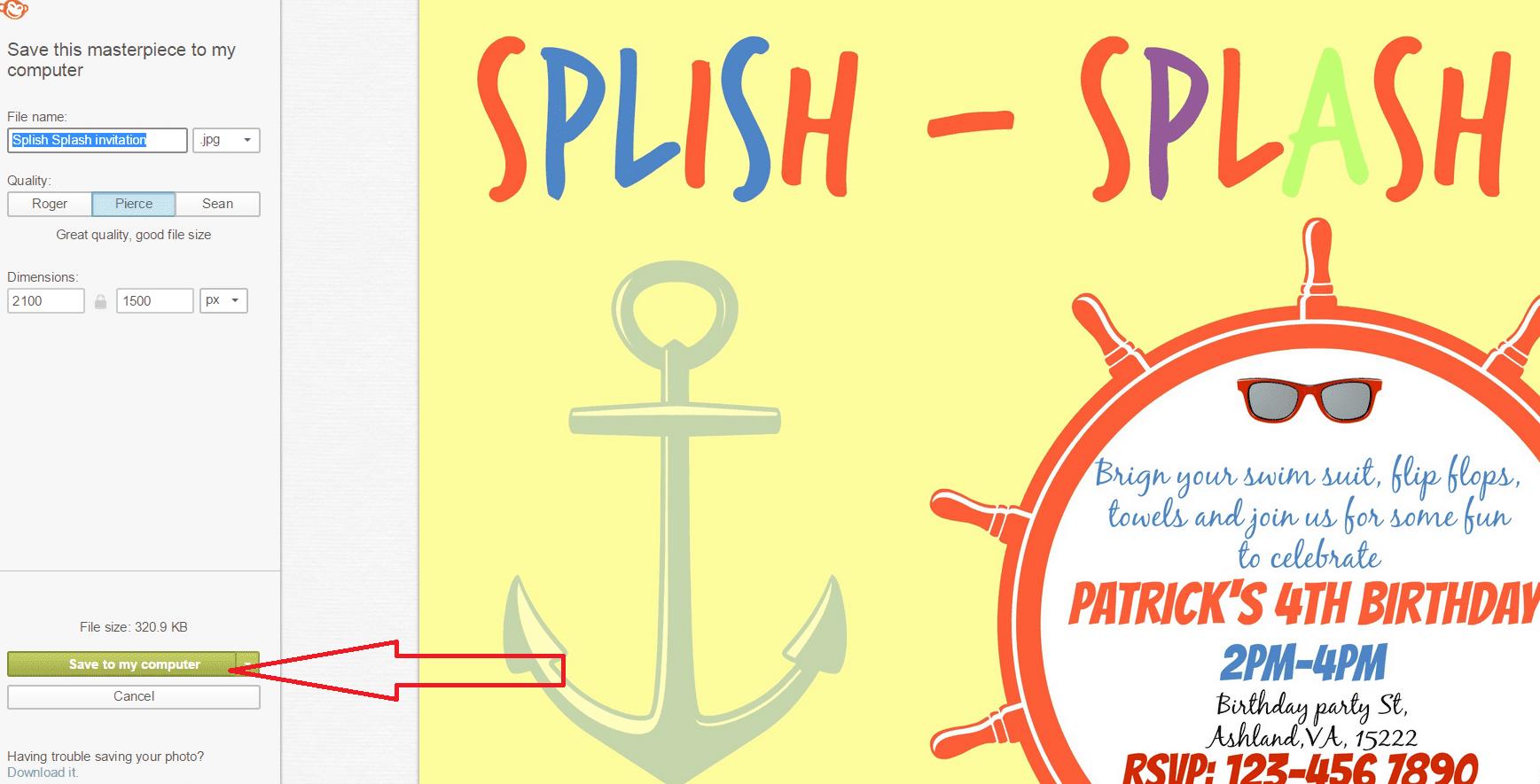 Splish Splash Party And Free Printables Place Of My Taste