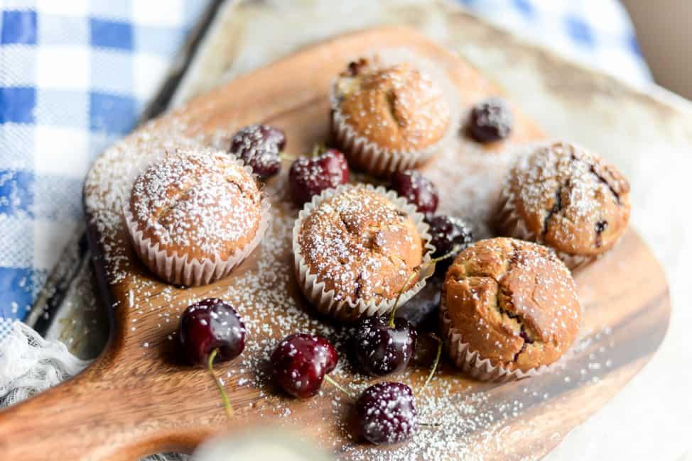 Cherry Muffins-1